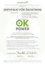 OK-Power-Zertifikat